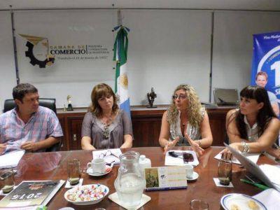 La Cámara de Comercio firmó un convenio con el Banco Patagonia