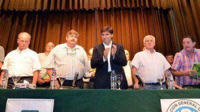 Bossio recibi� apoyo sindical a su candidatura en la Provincia