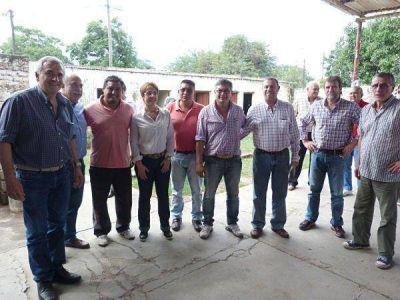 Morales aseguró que se garantizarán los planes sociales en La Esperanza