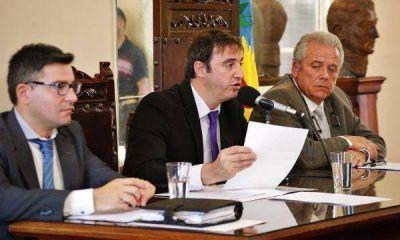 Luciani dio inicio a las sesiones del HCD de Luján