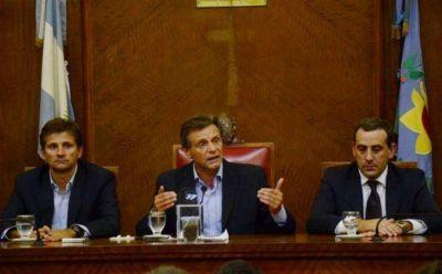 Finalmente Pulti pudo dirigir su mensaje de apertura de sesiones en el HCD