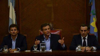 """Pulti, duro con la oposición: cuestionó a """"los que ponen trabas"""""""