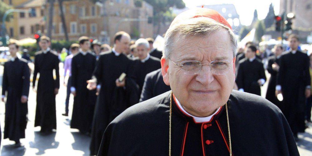 El cardenal Burke denuncia que la