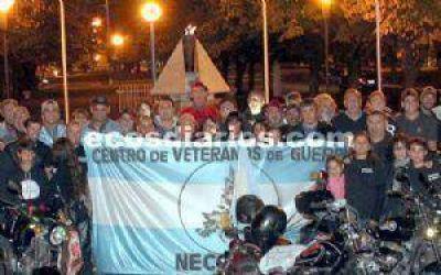 Se rinde homenaje a los veteranos y a los que cayeron en Malvinas