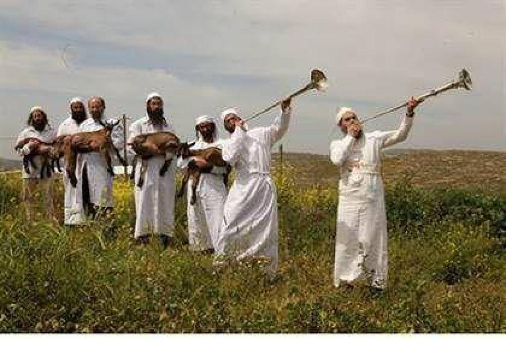 Se llevó a cabo la práctica histórica del sacrificio de Pesaj en Jerusalem
