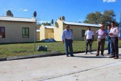 El intendente recorrió avances de obras en General Pirán