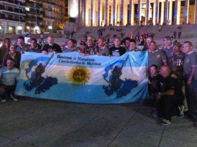 Rosario homenajea a los veteranos y caídos en la guerra de las islas Malvinas