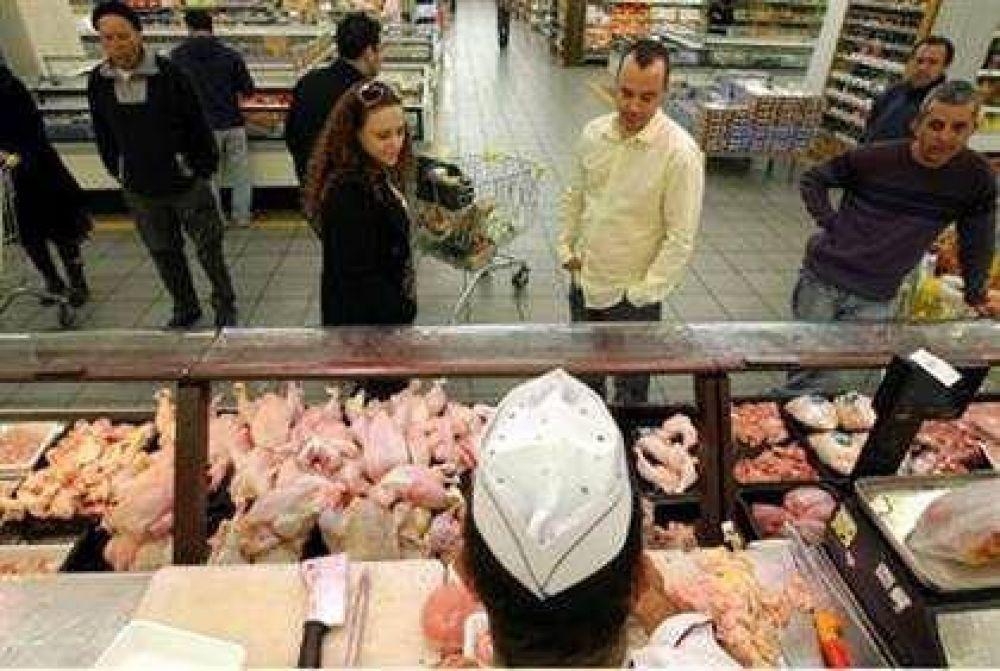 En Israel, el pollo es la comida