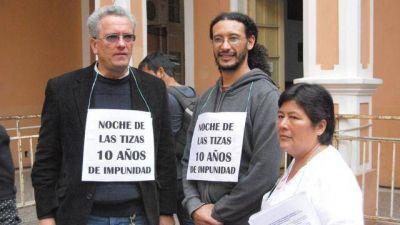 A una década de la Noche de las Tizas, los docentes volvieron a repudiar a Romero