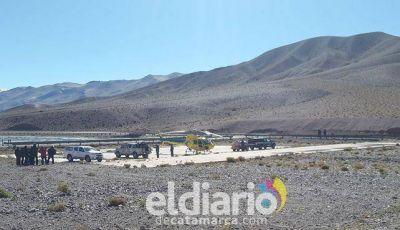 Defensa Civil rescató a montañistas mendocinos