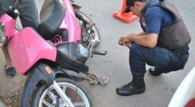 Secuestran motos que los conductores no pudieron acreditar su propiedad