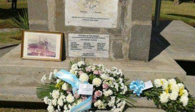 Conmemoraron el 33º aniversario de Malvinas