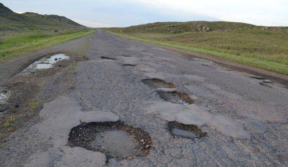 Repavimentación para la ruta 76 queremos un distrito distinto!