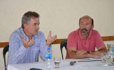 Héctor Gay y Horacio Buitrago se reunieron con vecinos