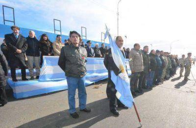 Diputados provinciales participaron de acto de Malvinas en Río Gallegos