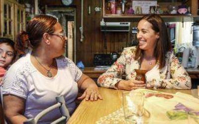 María Eugenia Vidal en Ezeiza: