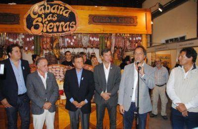 El intendente junto al gobernador dejaron inaugurada la tercera ExpoSierra