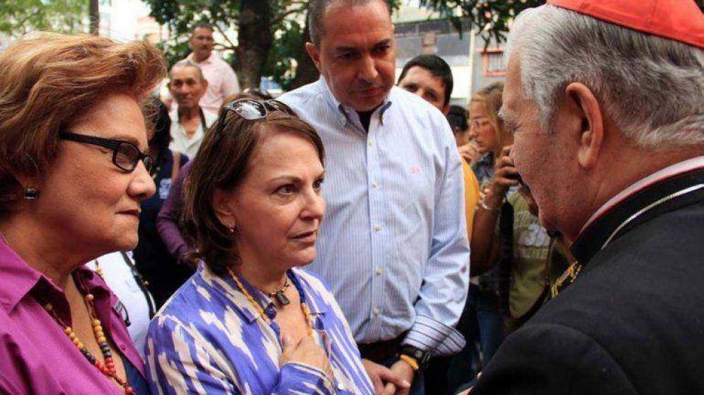 El arzobispo de Caracas instó a un diálogo de