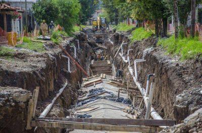 Canal de Los Manzanos: los vecinos reclaman que finalice la obra
