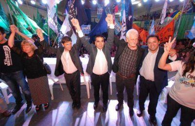 Fuerte apoyo de Kicillof a Rioseco