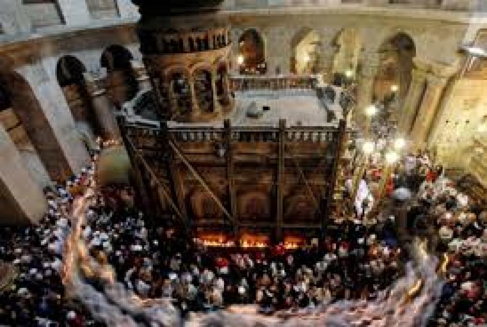 Cristianos rememoran en Jerusalén las últimas horas de Jesús