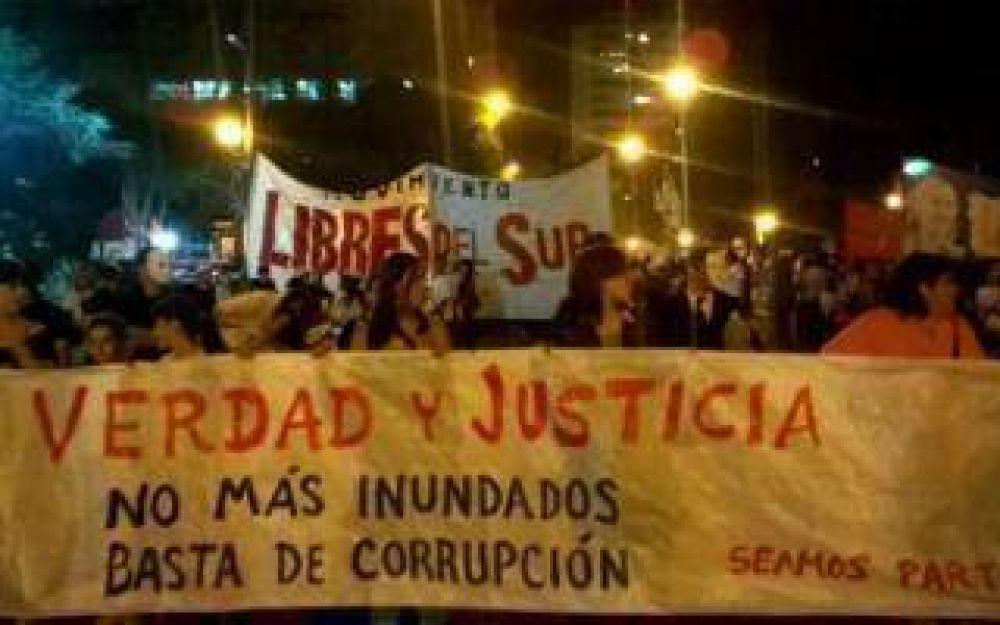 A dos años de la inundación, La Plata pidió Memoria, Verdad y Justicia