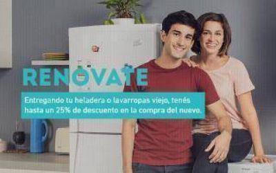 RENOVATE: Cómo funciona el plan canje de electrodomésticos