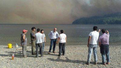 Chubut: Defensa Civil asegur� que todos los incendios en la cordillera est�n controlados
