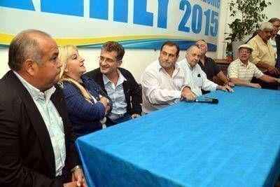 Raffo inauguró su local de campaña con gran apoyo del PJ