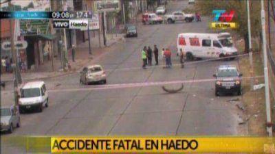 Haedo: murió un adolescente de 16 años que fue atropellado cuando caminaba por la vereda