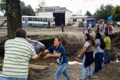 Ayuda a Tucumán: Donaciones crespenses llevadas a destino