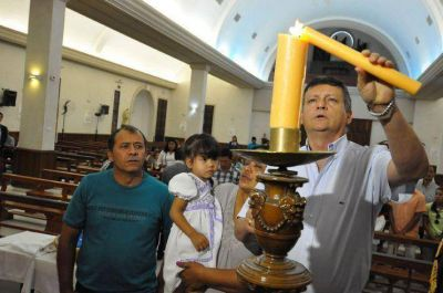 En su mensaje pascual, Peppo valoró la unidad para lograr la paz en la provincia