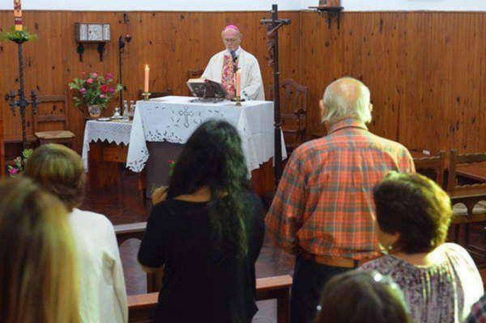 Monseñor Bokalic pidió vivir con amor, fidelidad y esperanza