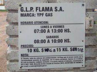 Definen acciones de control para que se respete el subsidio al gas en garrafas