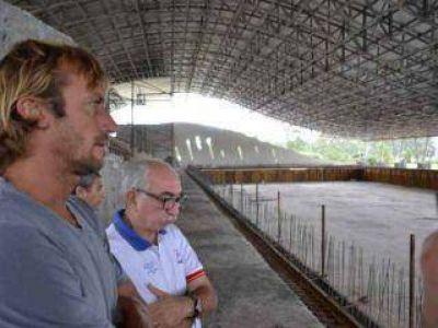 Meolans destacó que el natatorio olímpico marcará un antes y un después