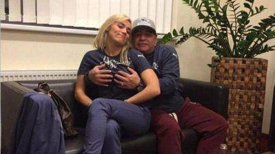 Diego Maradona, cada vez más