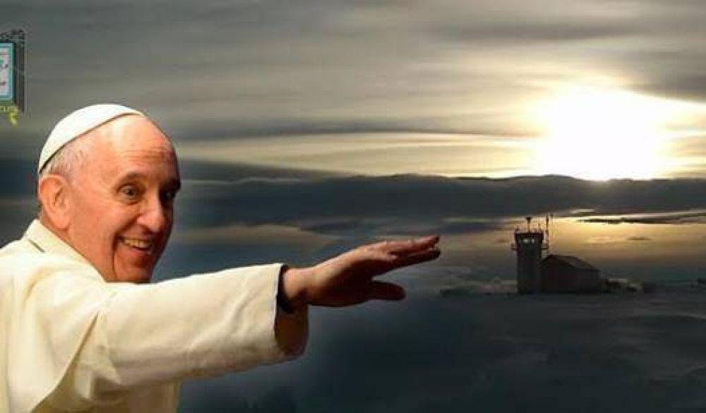 El Papa llamó a la base Marambio de la Antártida para saludar por Pascua