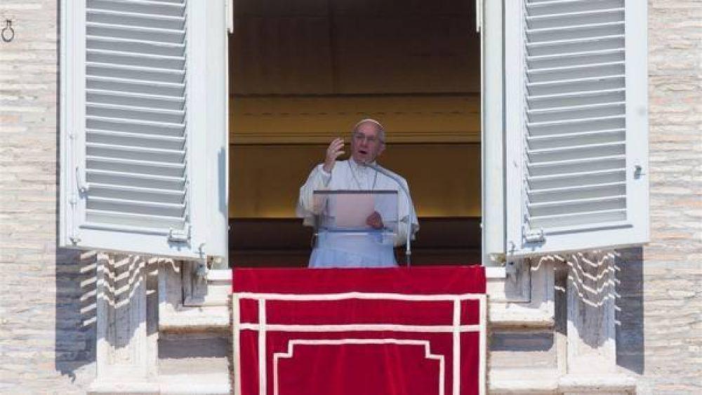 El Papa pidió una