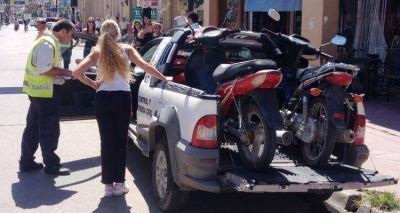 Infracciones para boliches, motociclistas y automovilistas durante el fin de semana
