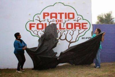 Fue inaugurado el Patio de Folclore