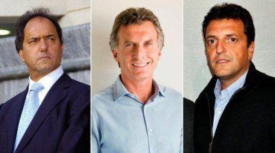 Scioli, Macri y Massa llegan a Salta para dar inicio a las PASO 2015