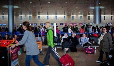 Se espera que más de 1.3 millones de personas pasen por el aeropuerto de Israel al finalizar Pesaj