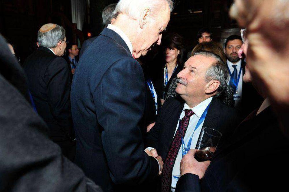 Schlosser se reunió con el vicepresidente de los Estados Unidos
