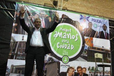 En un acto en el Gatica, Ferraresi anunció su candidatura a Intendente y afirmó que seguirán las obras en Avellaneda