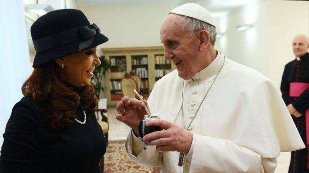 Cristina Kirchner y Francisco se reunirán en junio