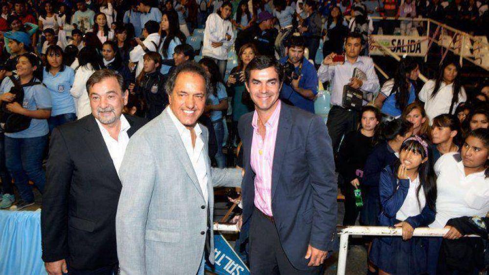 Macri, Massa y Scioli desembarcan en Salta para la primera pulseada electoral