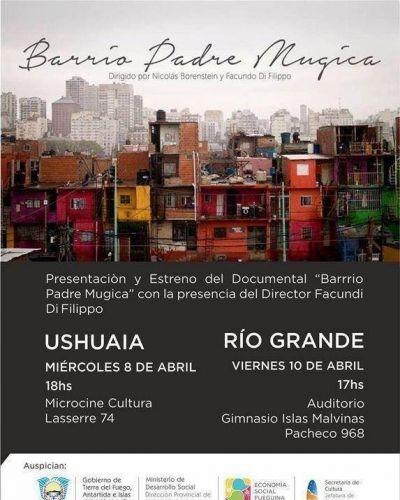"""Jornada de Proyección del Documental """"Barrio Padre Mugica"""""""