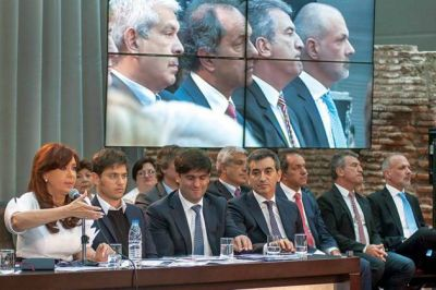 """Buzzi encabeza una nueva edición de """"Pueblo por Pueblo"""" en Comodoro Rivadavia"""