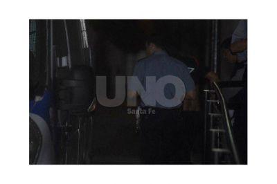 Nano Leiva, líder de barrabrava de Colón, ya está preso en la cárcel de Coronda