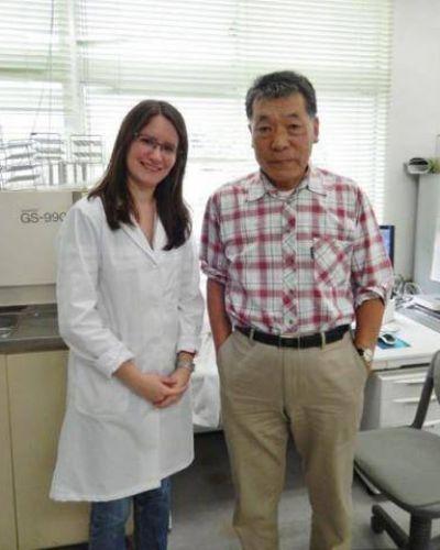 Egresada de la UNER fue becada para realizar una estadía de Investigación en Japón